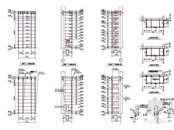 电厂煤仓间电梯间围护深化设计图