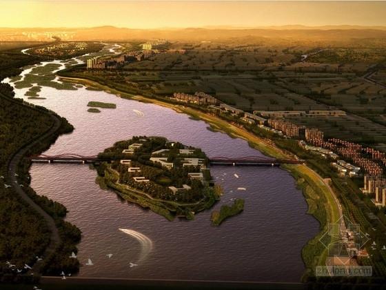 [河北]城市生态河道概念规划方案
