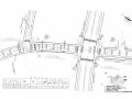 [福建]开发区24m宽城市次干路设计图纸123张(含管线照明 交通设施)