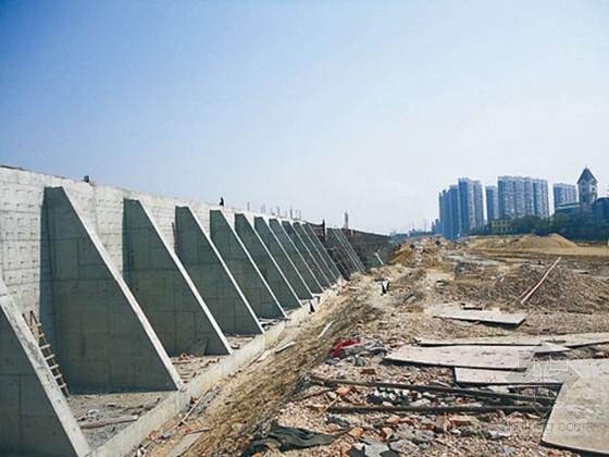 [重庆]高速公路扶壁式锚杆挡土墙施工方案