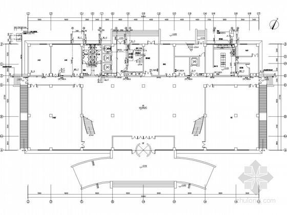 [北方]科技研发楼给排水施工图(太阳能热水系统)