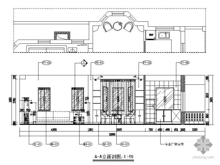 二层度假别墅室内装修图_2