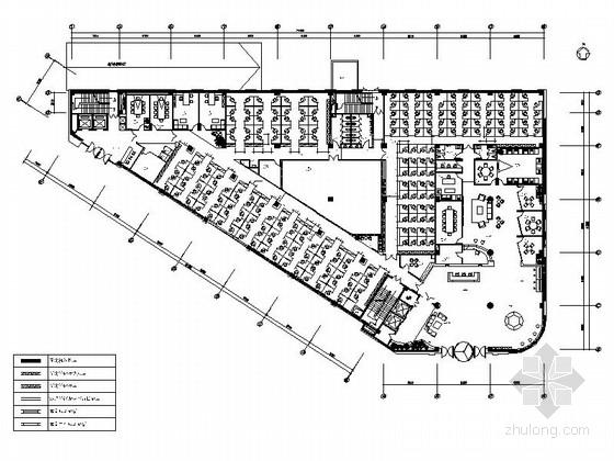 [北京]国际5A级商务中心中国知名软件大厦精装修竣工图(含水电图)