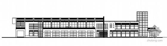 深圳红树湾某住宅小区会所楼建筑施工图