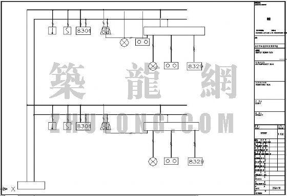东北某海关办公楼消防改造工程设计图