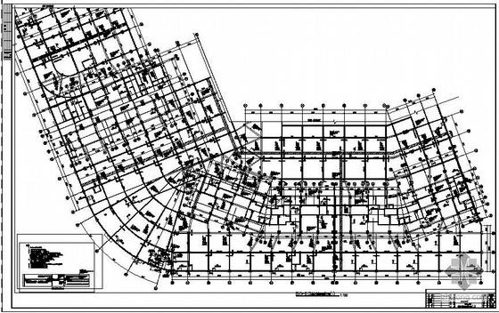 广东某地下室非人防部分部分结施竣工图