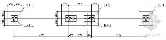 3米高公交候车亭钢结构图纸