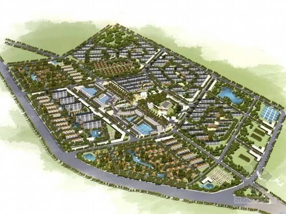 [天津市]某镇区概念规划