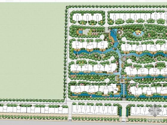 河南小区环境景观设计方案