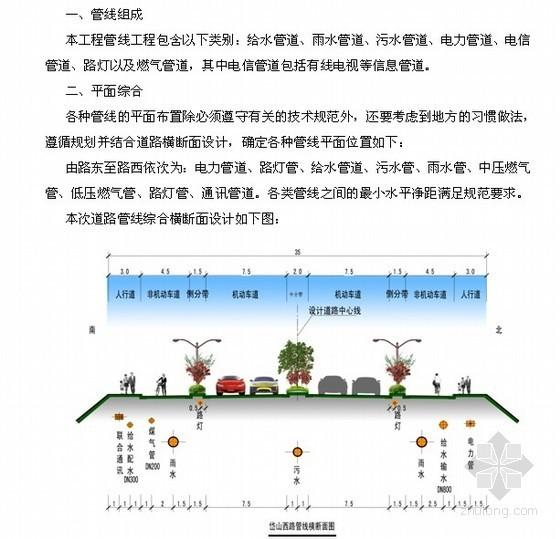 [江苏]市政道路建设工程可行性研究报告(附图)