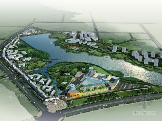 [广东]现代风格综合商业区规划设计方案文本