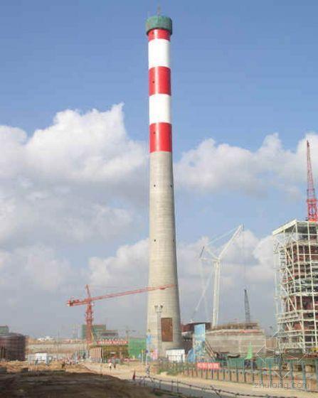 电动提升系统烟囱水塔施工工艺