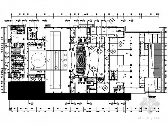 [甘肃]兰州某会展中心大剧院兼会议中心竣工图