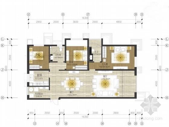 [云南]某住宅小区多套样板房室内设计概念方案