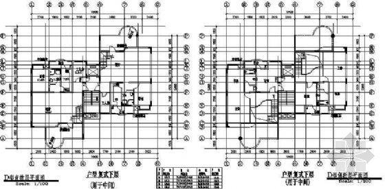复式五室两厅一厨两卫158平米