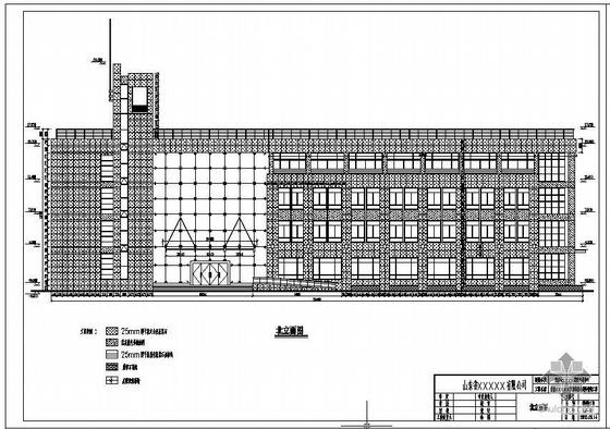济南市某安置房幕墙工程全套设计图(含计算书)