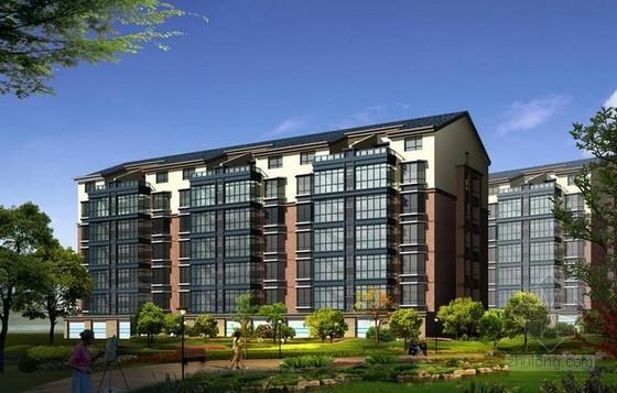 [毕业设计]四川住宅楼施工组织设计及工程量清单计价(含工程量计算 施工平面布置图)