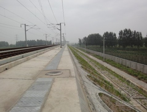 兰渝高铁路基接口工程施工方案(电缆槽 接触网 综合接地)