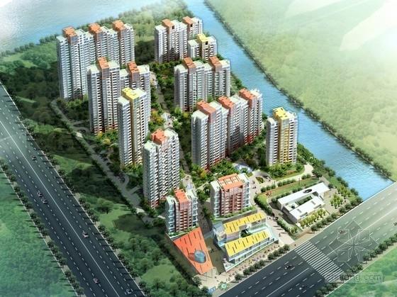 [苏州]商住混用居住区地块景观规划设计方案