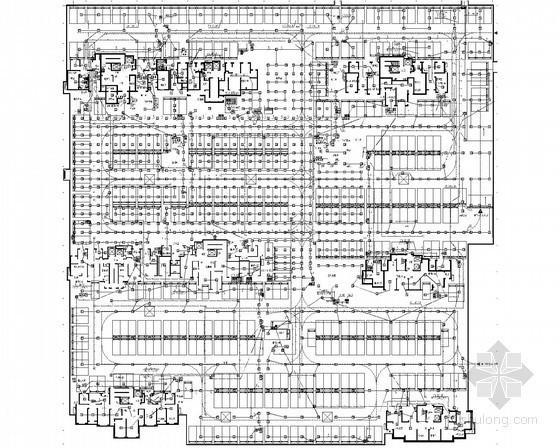 [山东]一类高层住宅建筑电气施工图纸235张(设计完整)