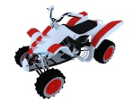 沙滩摩托3D模型下载