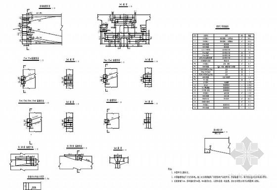 [湖南](40+56+40)m单线有砟轨道悬臂灌注连续梁设计图55张(含附属设施构造)