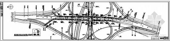 某立交桥非机动车道、人行道雨水管道设计图