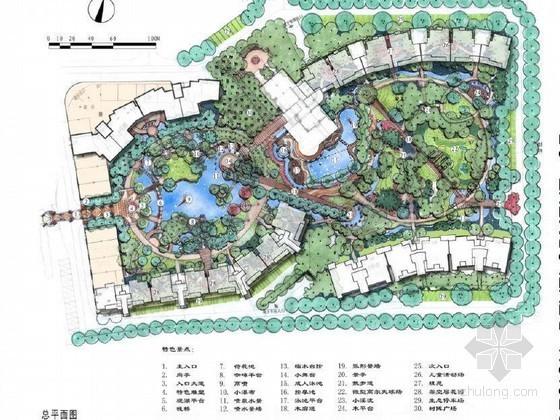 苏州市小区二期全套景观扩初设计文本