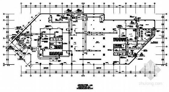 [重庆]某超高层大厦空调施工设计图