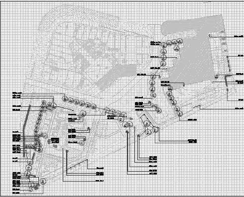 四川成都金色海蓉景观设计施工图-植物设计3