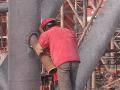 超高钢管混凝土柱混凝土一次泵送顶升施工工法
