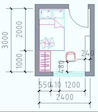 最全户型房间尺寸分析,设计师必备!_24