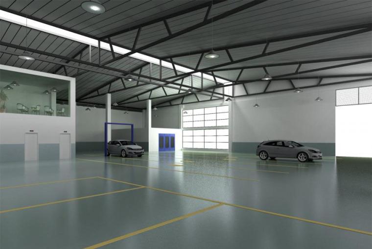 (原创)汽车4S店室内设计案例效果图-汽车4S店 (12)