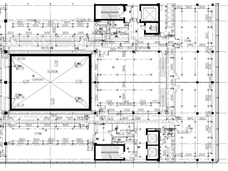 [上海]国际金融中心给排水全套施工图(含消防设计)_7