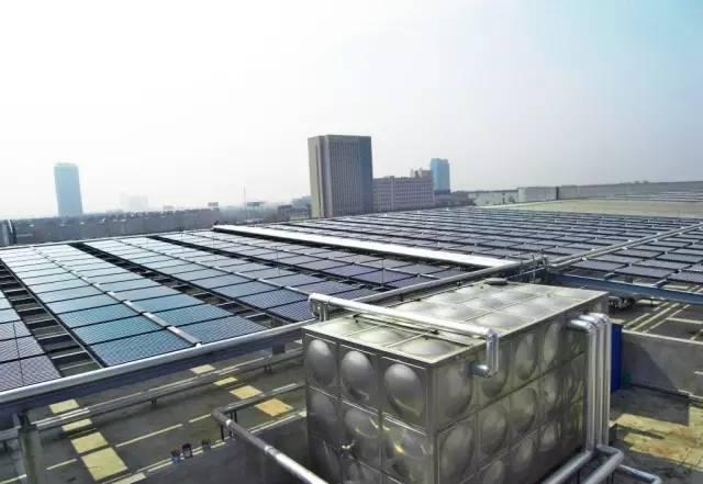 医院建筑太阳能热水供应系统设计四大要点_2