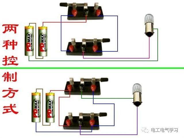 【电工必备】开关照明电机断路器接线图大全非常值得收藏!_25
