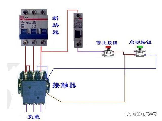 【电工必备】开关照明电机断路器接线图大全非常值得收藏!_49