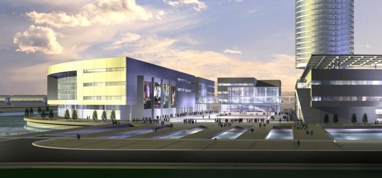杭州西湖文化广场总体规划与建筑设计方案.rar