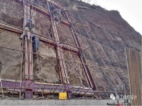 锚杆框格梁护坡施工技术方案