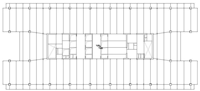 装配式要求下的百米办公楼结构体系_10