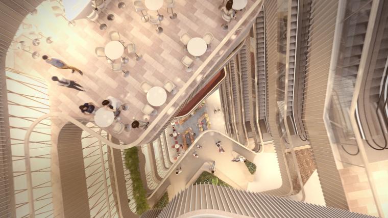 荷兰UNStudio商场中心设计施工图丨附效果图+机电设计+标识设计-04