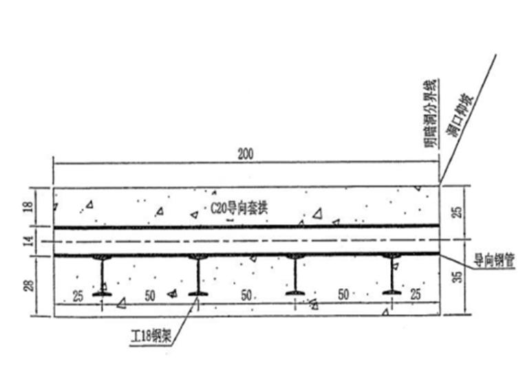 分离式长隧道洞口施工方案
