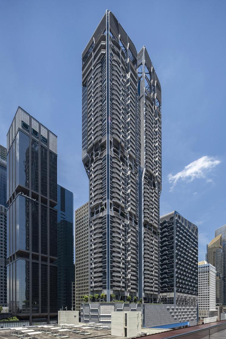 新加坡VonShenton大楼-03-v-on-shenton_un-studio