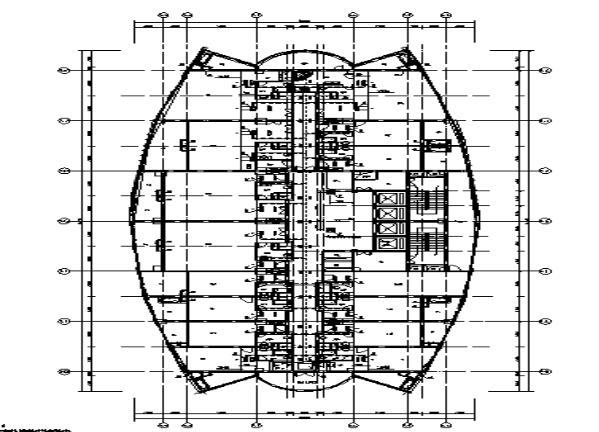 大型星级酒店暖通及防排烟系统设计图