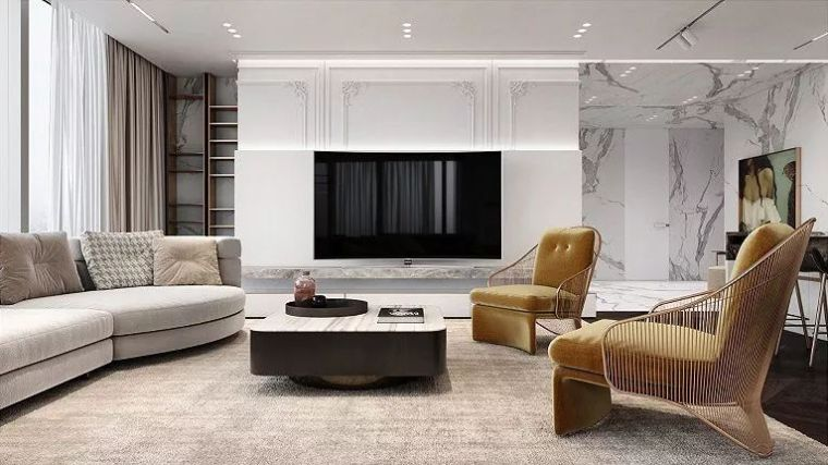 轻奢范儿,这样的室内设计才够腔调!