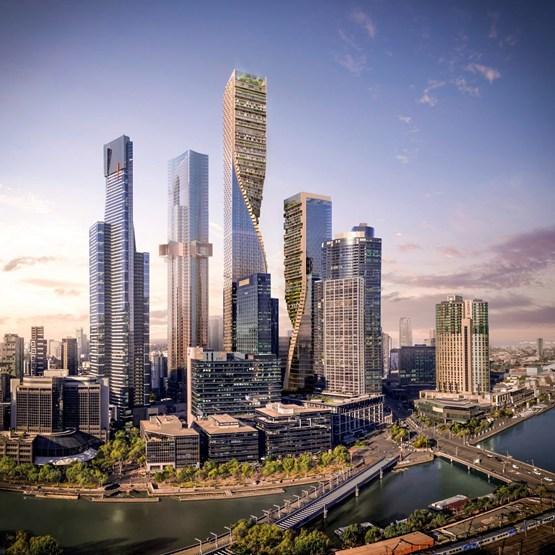 UNStudio工作室、考克斯建筑事务所 | 澳大利亚最高建筑