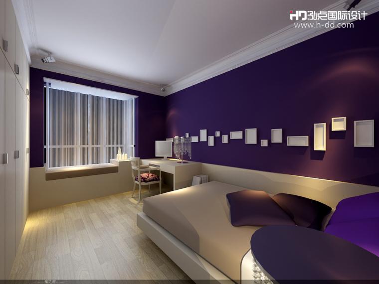 #我的年度作品秀#奢华公寓之彩色欧式_19