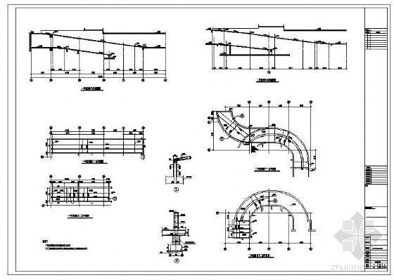 某地下车库坡道结构详图