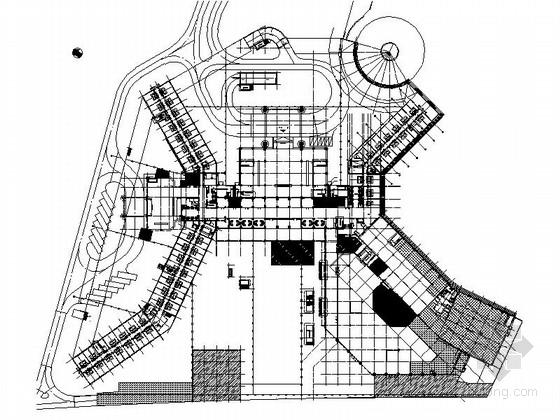 [广州]旅游景区酒店室内设计施工图