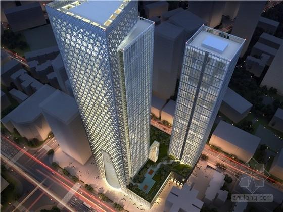 [成都]金融核心区超高层城市综合体建筑设计方案文本